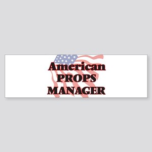 American Props Manager Bumper Sticker