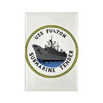 USS Fulton (AS 11) Rectangle Magnet (10 pack)
