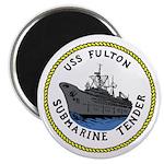"USS Fulton (AS 11) 2.25"" Magnet (100 pack)"