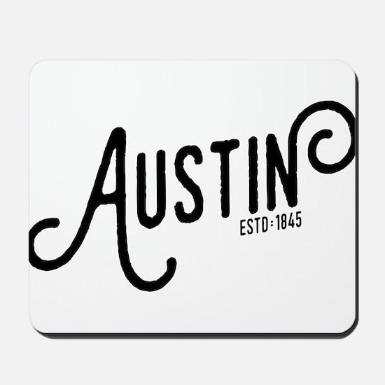 Austin Texas Mousepad