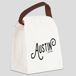 Austin Texas Canvas Lunch Bag