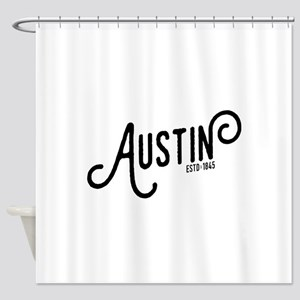 Austin Texas Shower Curtain