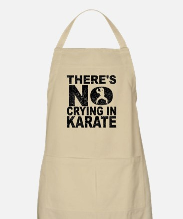 There's No Crying In Karate Apron