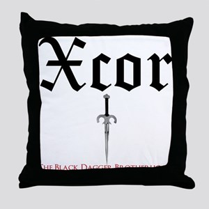 Xcor Throw Pillow