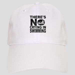 There's No Crying In Swimming Baseball Cap