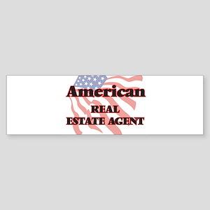 American Real Estate Agent Bumper Sticker