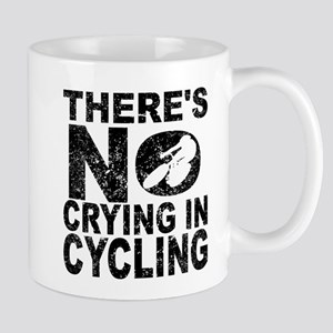 There's No Crying In Cycling Mugs