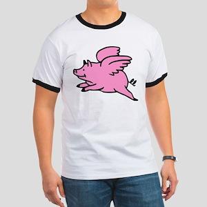 Flying Pig Ringer T