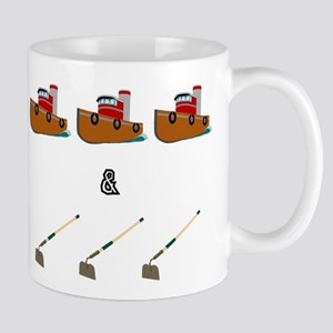 Boats and Hoes Mugs
