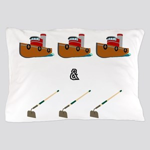 Boats and Hoes Pillow Case