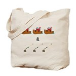 Boats and Hoes Tote Bag