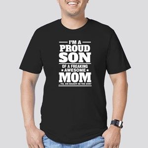 I'm A Proud Son Of A Freaking Awesome Mom T-Shirt
