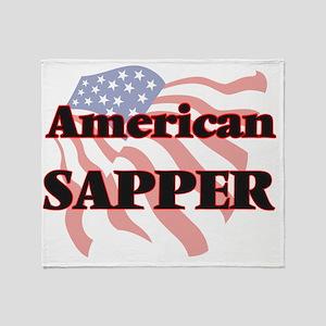 American Sapper Throw Blanket