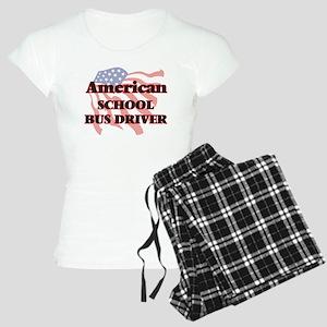 American School Bus Driver Women's Light Pajamas
