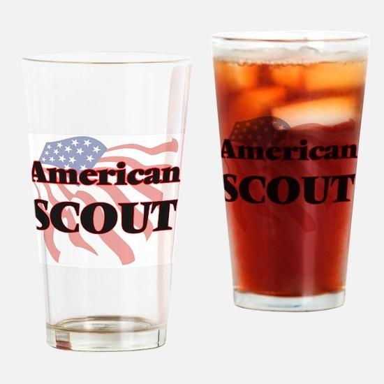 Cute Boy scouts america Drinking Glass