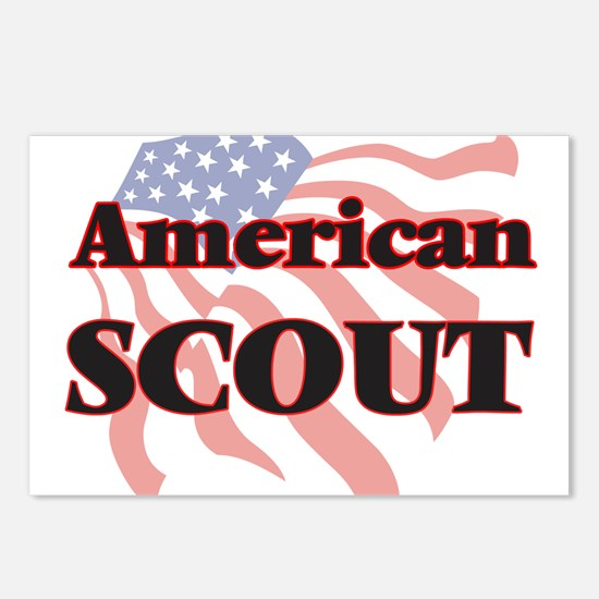 American Scout Postcards (Package of 8)