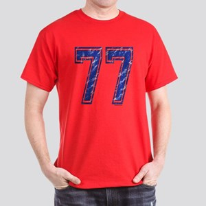 77 Jersey Year Dark T-Shirt