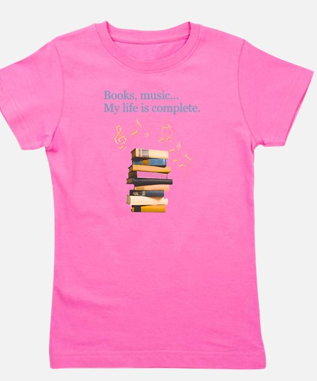 Cute Music Girl's Tee