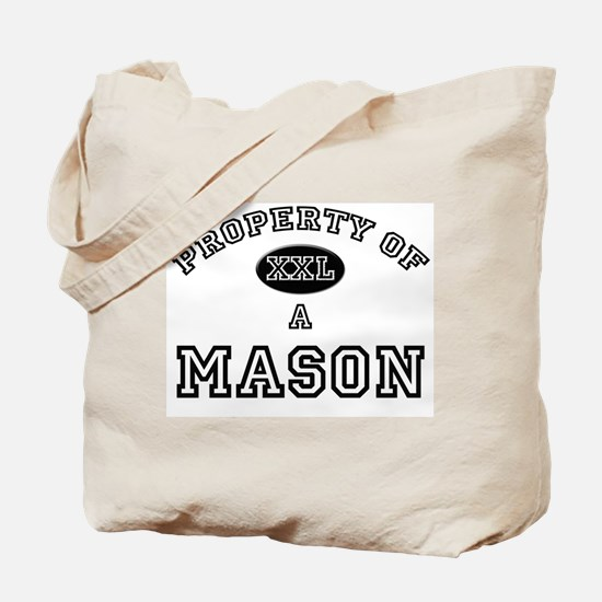 Property of a Mason Tote Bag