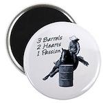 3 Barrels 2 hearts 1 passion. Magnet