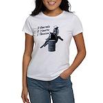 3 Barrels 2 hearts 1 passion. Women's T-Shirt