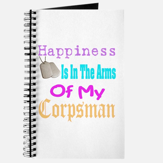 happiness is in the arms of m Journal