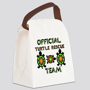 Official Turtle Rescue Team 1 Canvas Lunch Bag