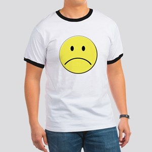 Yellow Sad Face Emoji T-Shirt