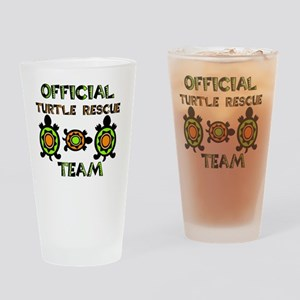 Official Turtle Rescue Team 1 Drinking Glass