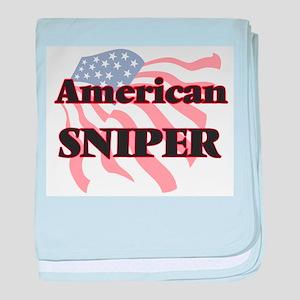 American Sniper baby blanket