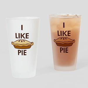 I Like Pie Drinking Glass