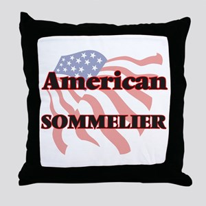 American Sommelier Throw Pillow