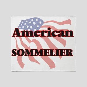 American Sommelier Throw Blanket