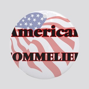 American Sommelier Round Ornament