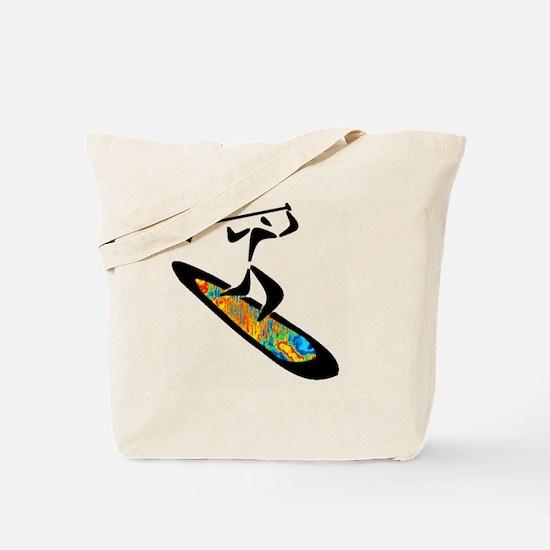 Unique Paddle Tote Bag