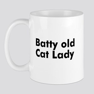 Batty old Cat Lady Mug
