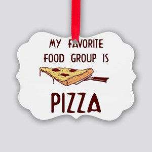 My Favorite Food Picture Ornament