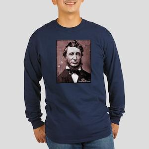 Thoreau Long Sleeve Dark T-Shirt