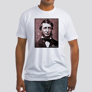 Thoreau Fitted T-Shirt