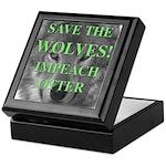 Help Idaho Wolves Keepsake Box