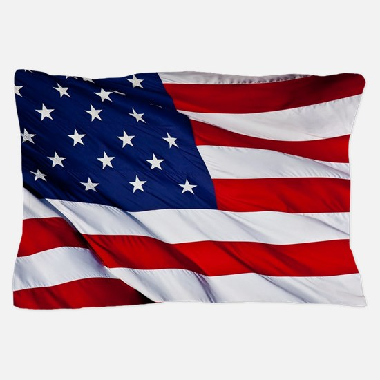 Funny American flag Pillow Case