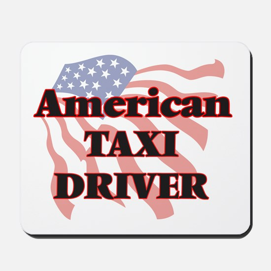 American Taxi Driver Mousepad