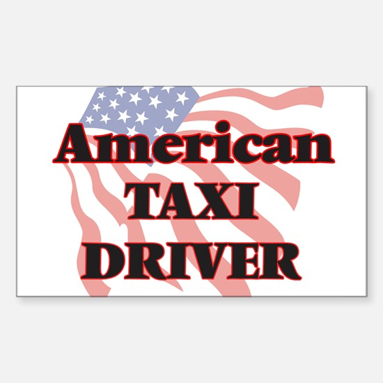 American Taxi Driver Decal