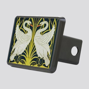 Swan, Rush and Iris by Wal Rectangular Hitch Cover