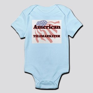 American Telemarketer Body Suit
