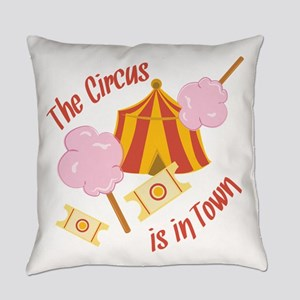 Circus In Town Everyday Pillow