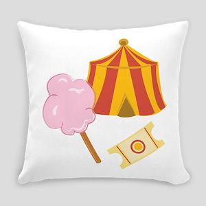 Circus Treats Everyday Pillow