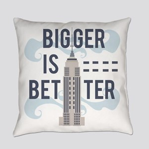 Bigger Is Better Everyday Pillow