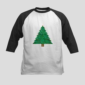 sequin christmas tree Baseball Jersey