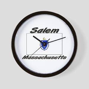 Salem Massachusetts Wall Clock